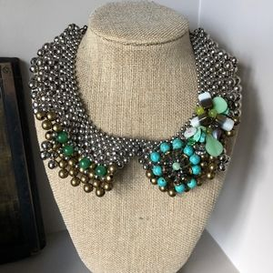 Pam Hiran Anthropologie Bib Necklace